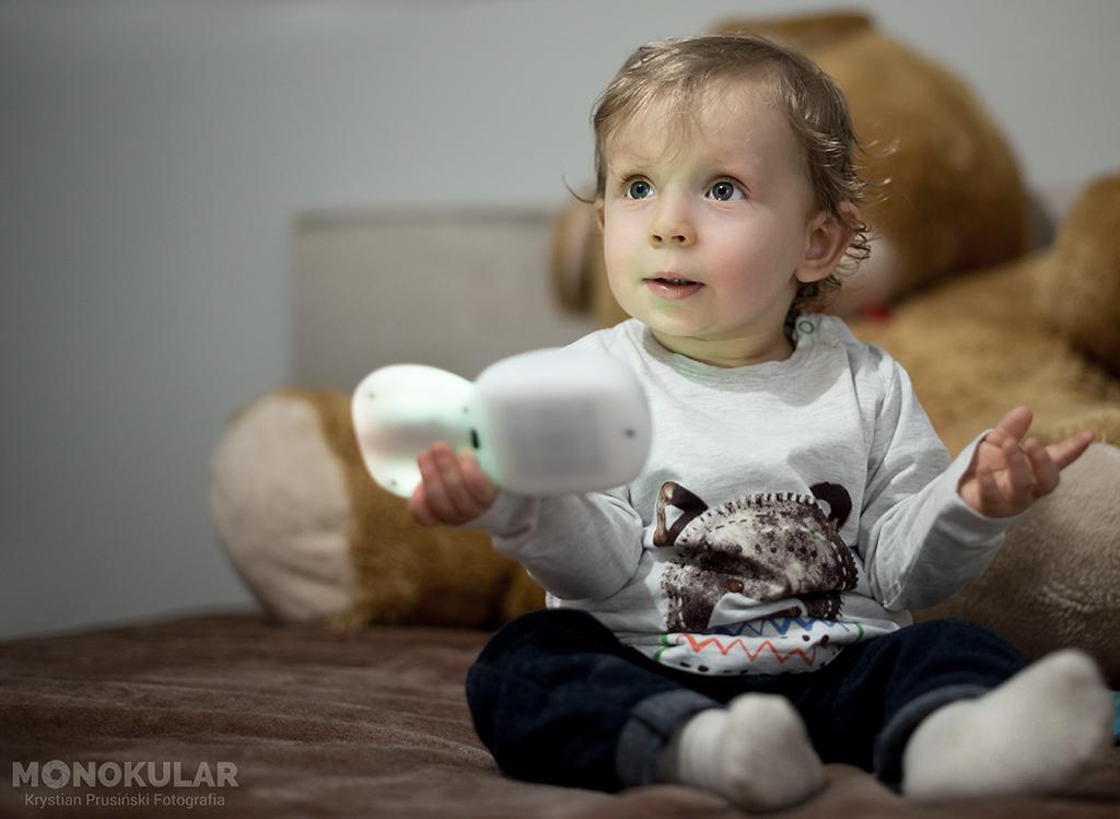 portret dziecka w domu